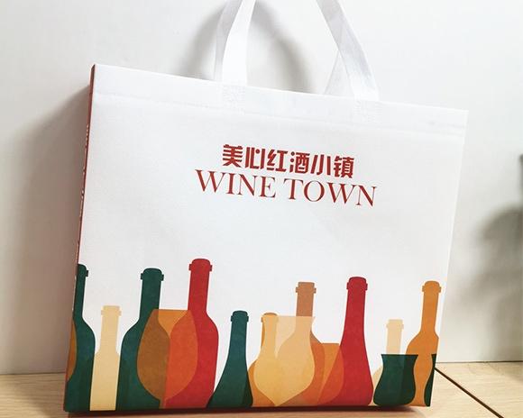 美心红酒小镇广告袋定制